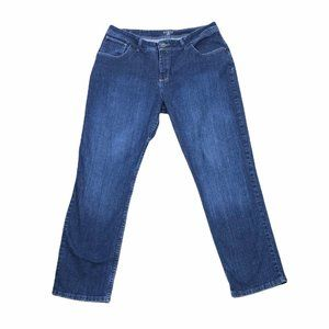 Riders By Lee Womens Straight Denim Jeans Size 16